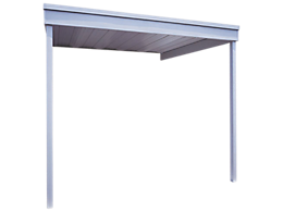 Attached Patio Cover/Carport, 10x10