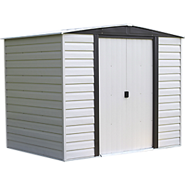 Vinyl Dallas 8 x 6 ft. Shed