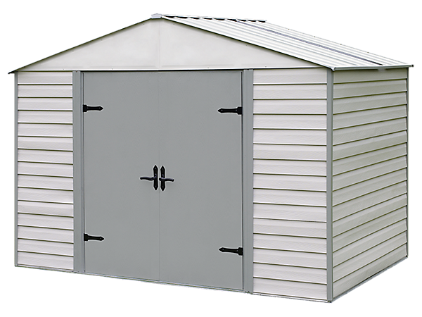 Viking® Series 10 ft. x 7 ft. Vinyl-Coated Steel Storage Shed