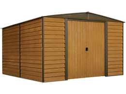 Woodridge 10 x 12 ft. Steel Storage Shed