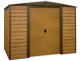 Woodridge 10 x 6 ft. Steel Storage Shed