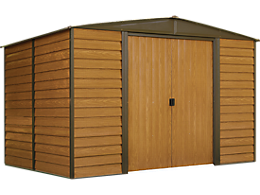 Woodridge 10 x 8 ft. Steel Storage Shed