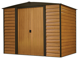 Woodridge 8 x 6 ft. Steel Storage Shed