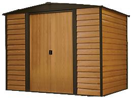 Woodridge 8 x 6 ft. Steel Storage Shed