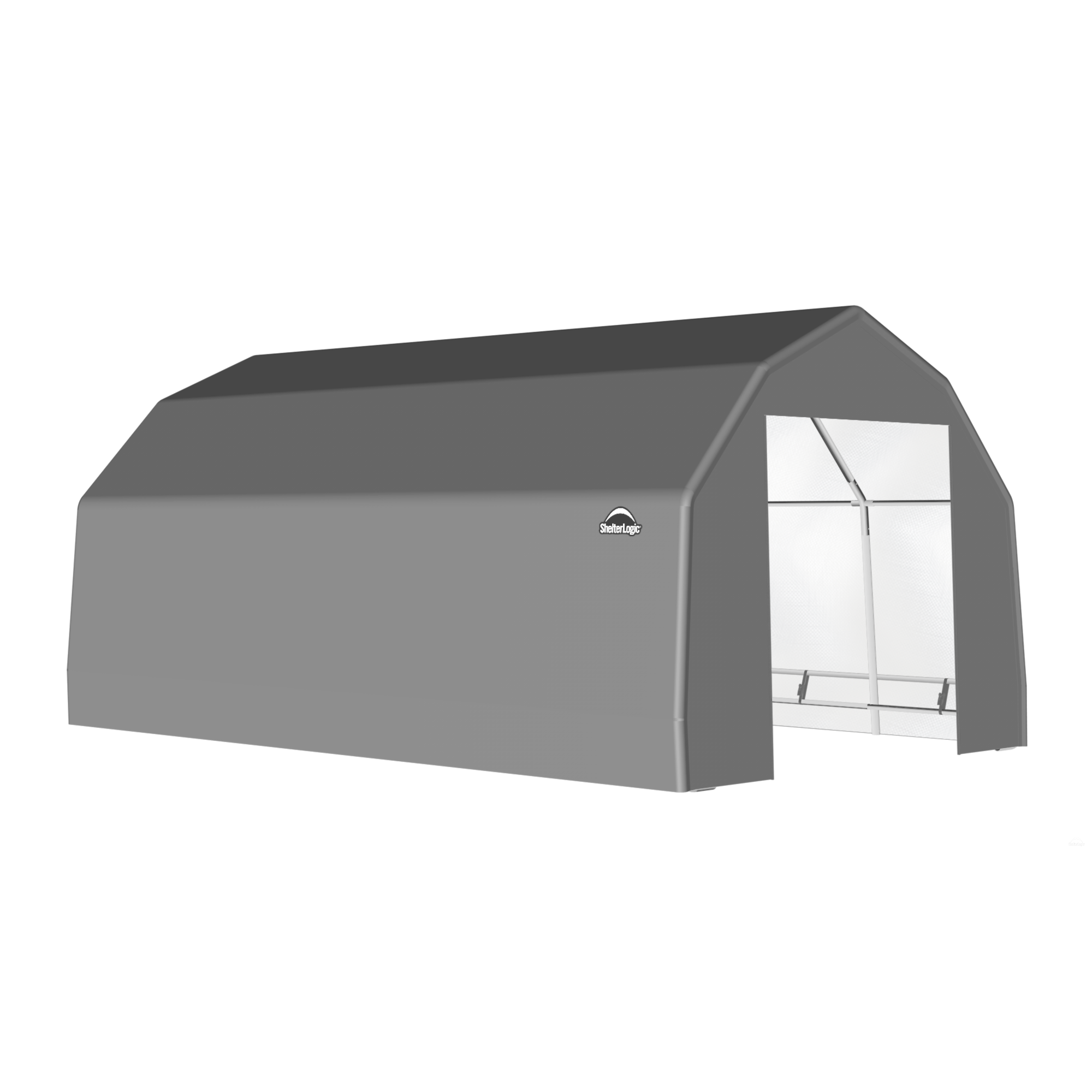 SP Barn 15X24X11 Gray 14 oz PE Shelter