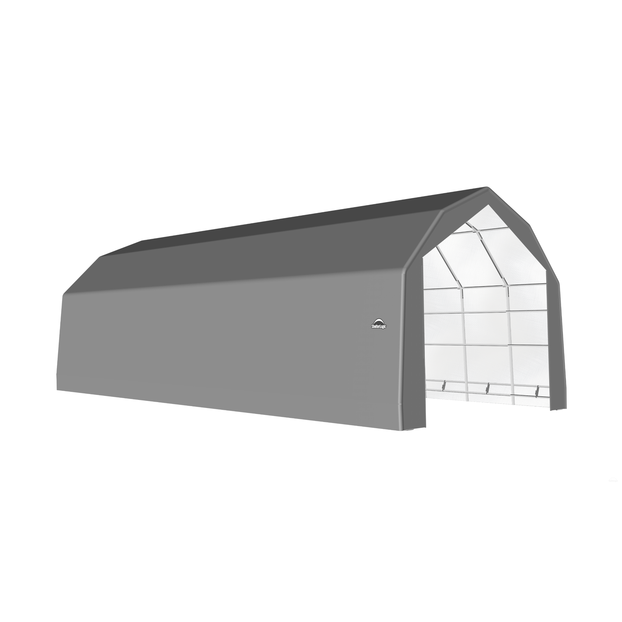 SP Barn 20X36X15 Gray 14 oz PE Shelter