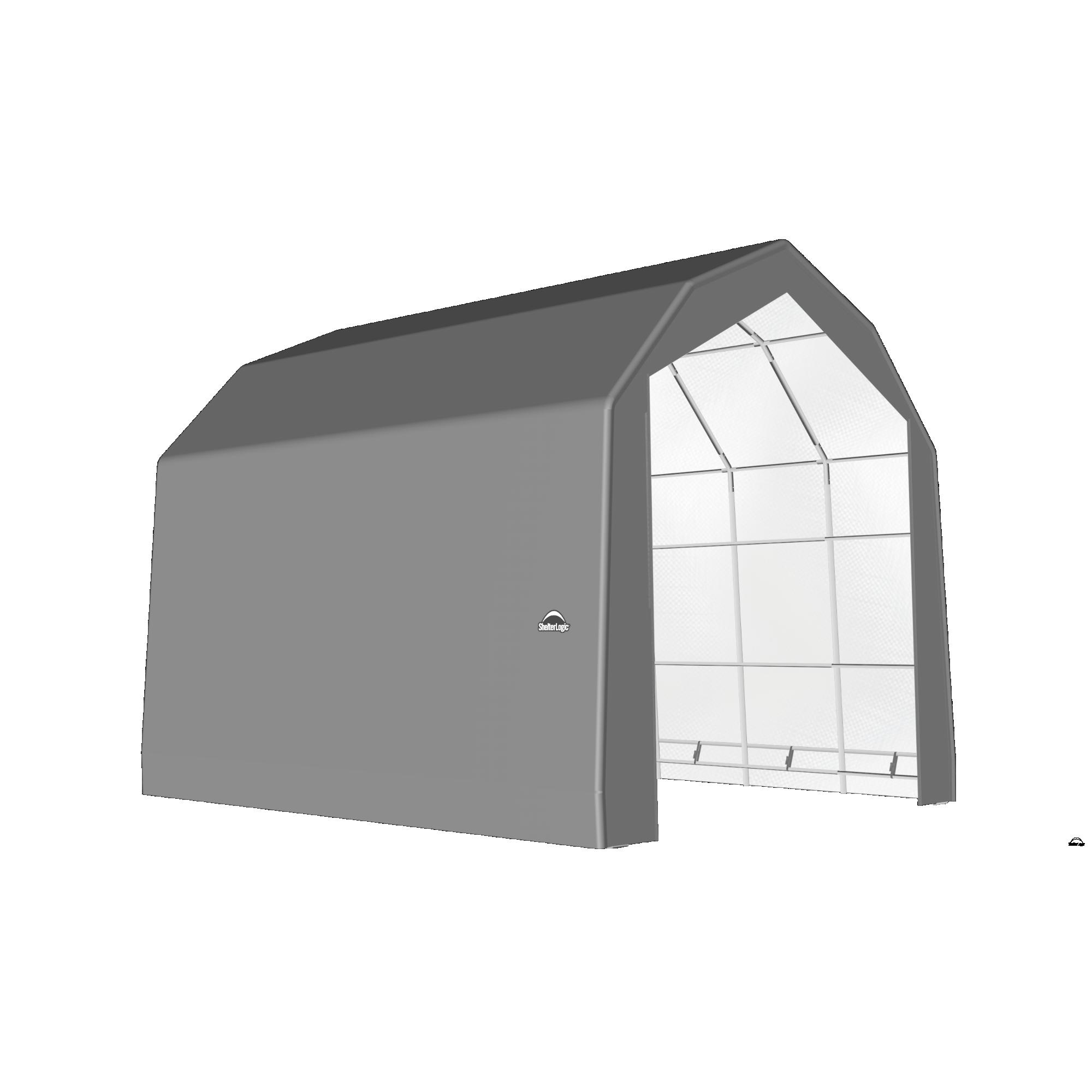 SP Barn 20X24X18 Gray 14 oz PE Shelter