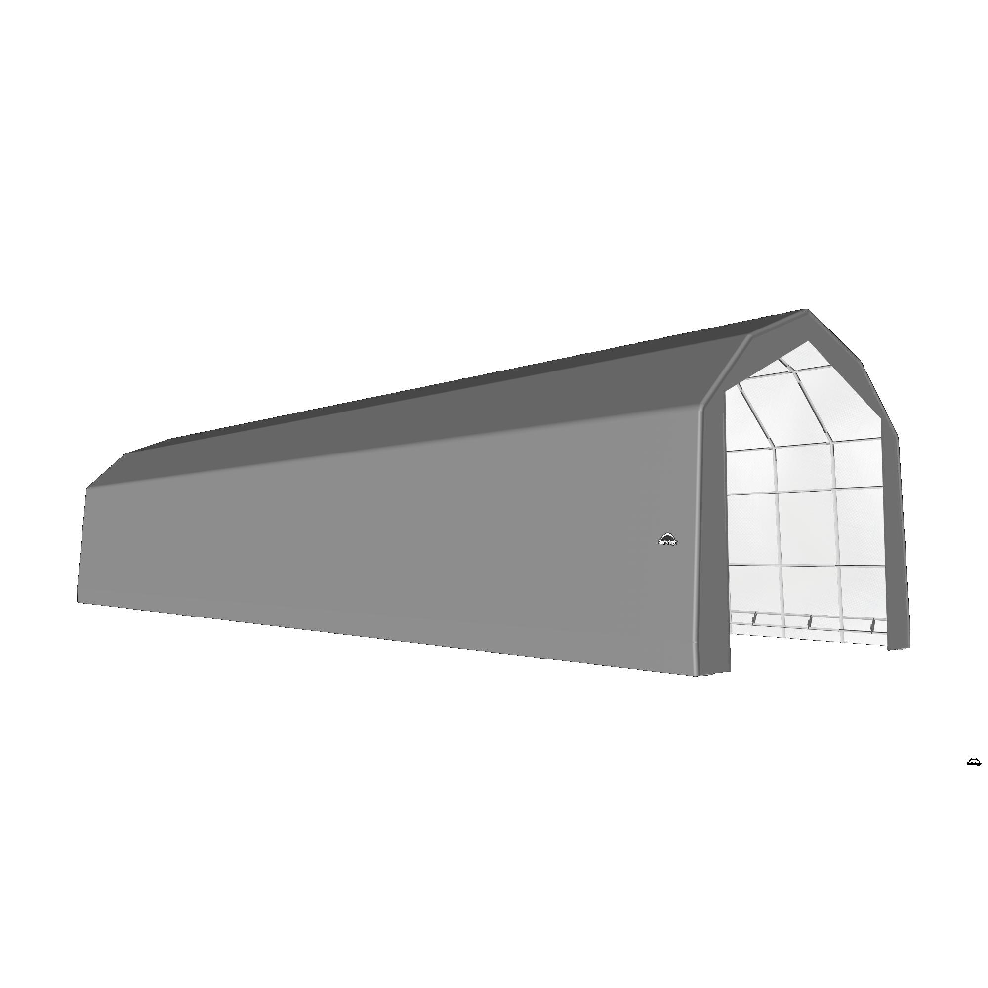 SP Barn 20X72X18 Gray 14 oz PE Shelter