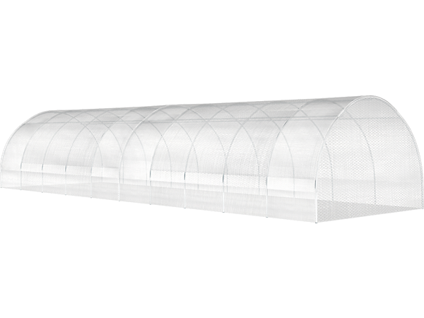 High Tunnel Greenhouse 14 X 36 X 8 ft. 5 in. Round Shape FRAME AND COVER
