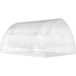 ShelterTech High Tunnel Greenhouse Frame and Cover