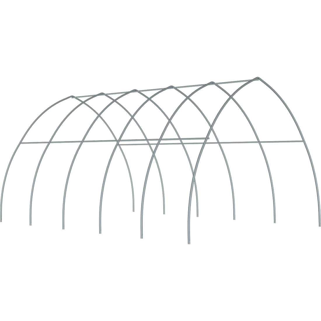 ShelterTech High Tunnel Greenhouse Frame Only