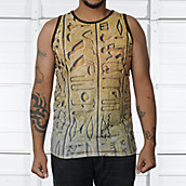 Mens Writing On Walls Tank