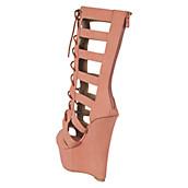 JMC Women's Dunes-15 Lace-Up Platform Sandal. PreviousNext