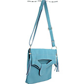 Fold Over Flap Handbag