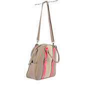 Womens Round Satchel