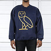 Mens Owl Sweater