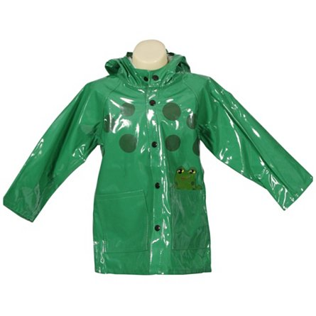 Western Chief Frog Raincoat (Toddler)