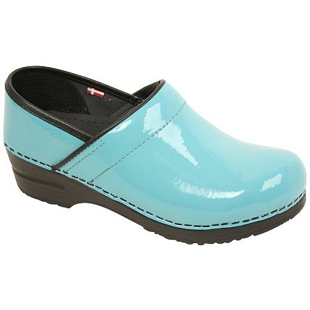 Sanita Clogs Professional Narrow Patent