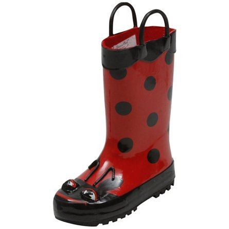 Western Chief Lady Bug Rainboot (Toddler)