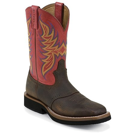 Stampede™ Dark Brown Rawhide W/Saddle