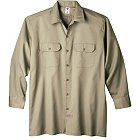 Dickies Apparel Long Sleeve Work Shirt - 574-KH
