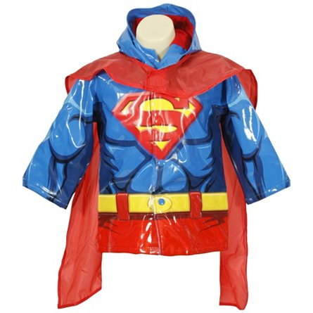 Superman Raincoat (Toddler)