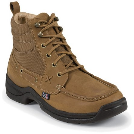 Justin Boots Casuals Rodeo Cloth/Latigo Leather Chukka