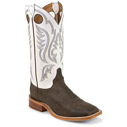 Justin Boots Bent Rail™ Chocolate Bisonte