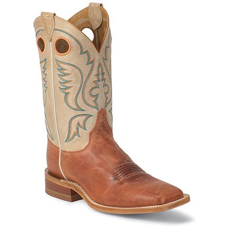 Justin Boots Bent Rail™ America Burnt Orange Calf