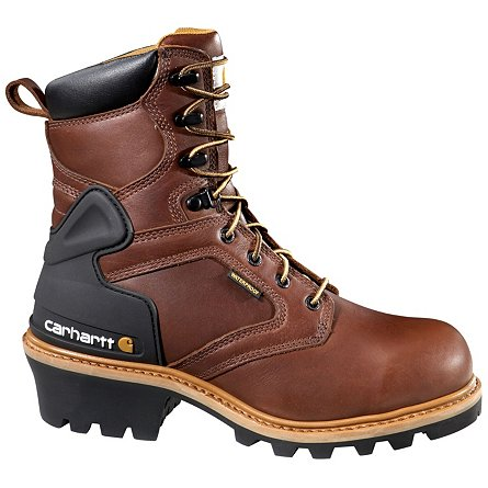 "Carhartt 8"" Waterproof Logger Safety Toe"