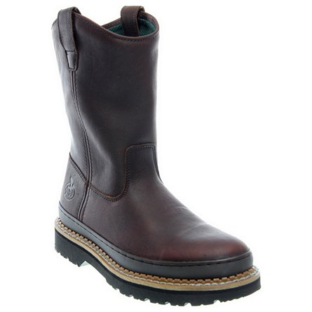 "Georgia Boots 9"" Georgia Giant Pull On"