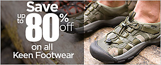 Up to 80% Off on Keen