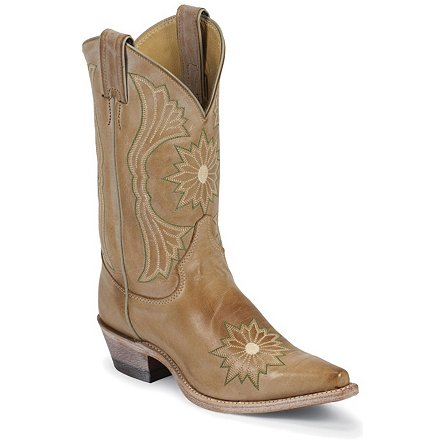 Justin Boots Fashion Fogged Camel