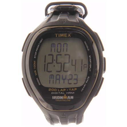 TIMEX Ironman Target Trainer Heart Rate Monitor Tap Tech