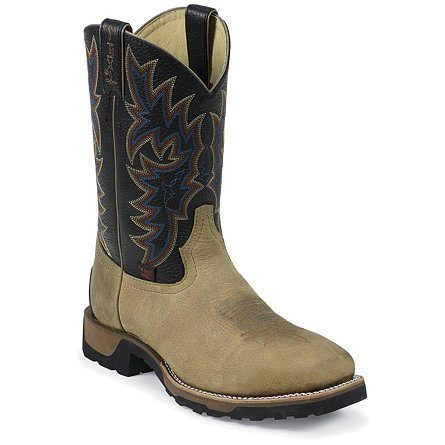 Tony Lama Coffee Montana Steel Toe