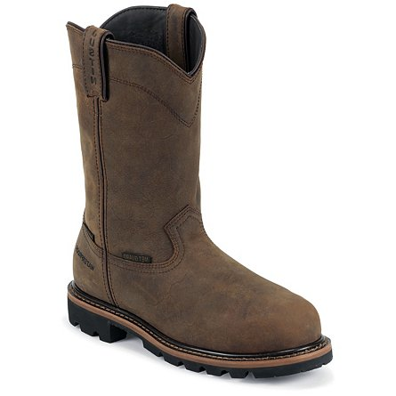 "Justin Original Work Wyoming Waterproof 10"" Safety Toe"