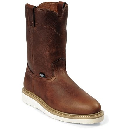 Justin Original Work Tan Premium Steel Toe