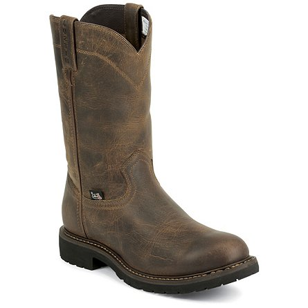 Justin Original Work Rugged Utah Steel Toe