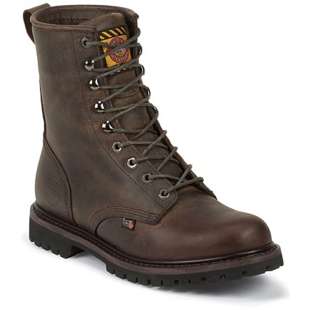 Justin Original Work Rugged Utah Waterproof Steel Toe