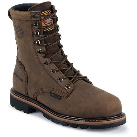 Justin Original Work Wyoming Waterproof Safety Toe