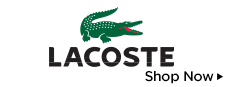 New Arrivals from Lacoste