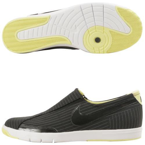 Nike Blazer Low Slip (Black) Women's Slip-On Shoes 316284-004