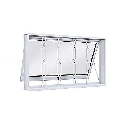 Maxim Ar com Grade Mosaico Vidro Miniboreal 41230, Branco, 60x60x7cm Lucasa Facilita