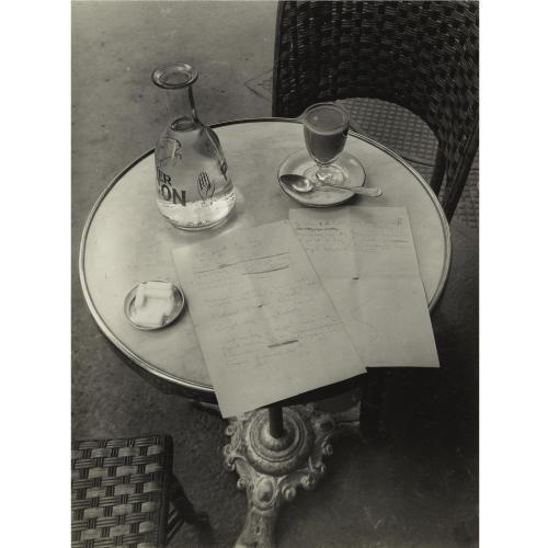 André Kertész: Ady költemény. 1934