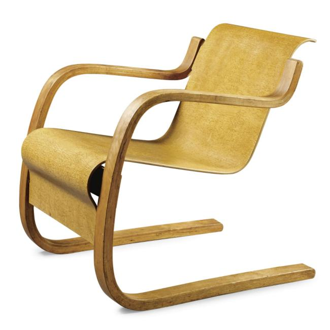 Chairs alvar and i for Alvar aalto chaise