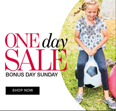 One Day Sale Bonus Day