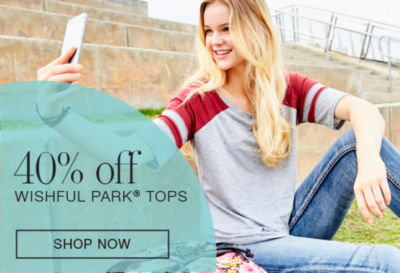 Shop 40off Wishful Park Tops