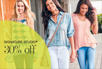 Shop Signature Studio 30%off