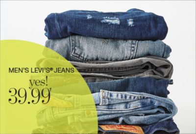 Shop Men's Levi Jeans Yes 39.99