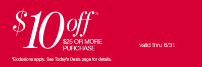 Shop 10off Your $25 or More Purchase